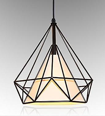 Goeco Industrial Retro Lustre Lumière Vintage Plafonnier Lampe