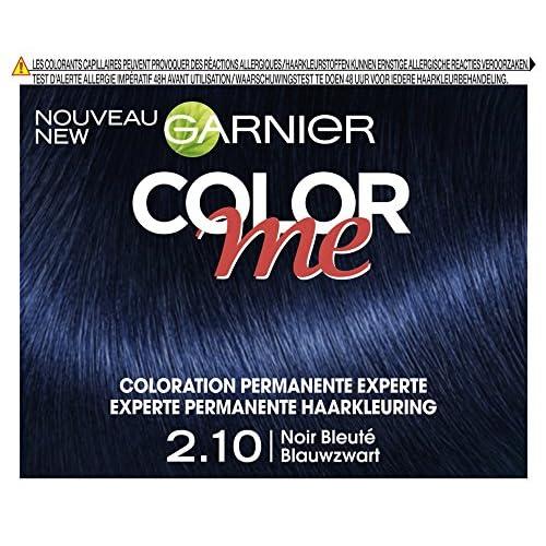Garnier Color Me Coloration Cheveux Permanente Noir Bleuté 210