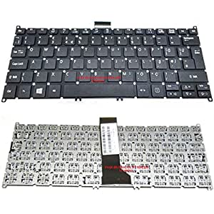 Acer Aspire ES1-111M-C064 Klavye Siyah TR Q Laptop Tuş Seti