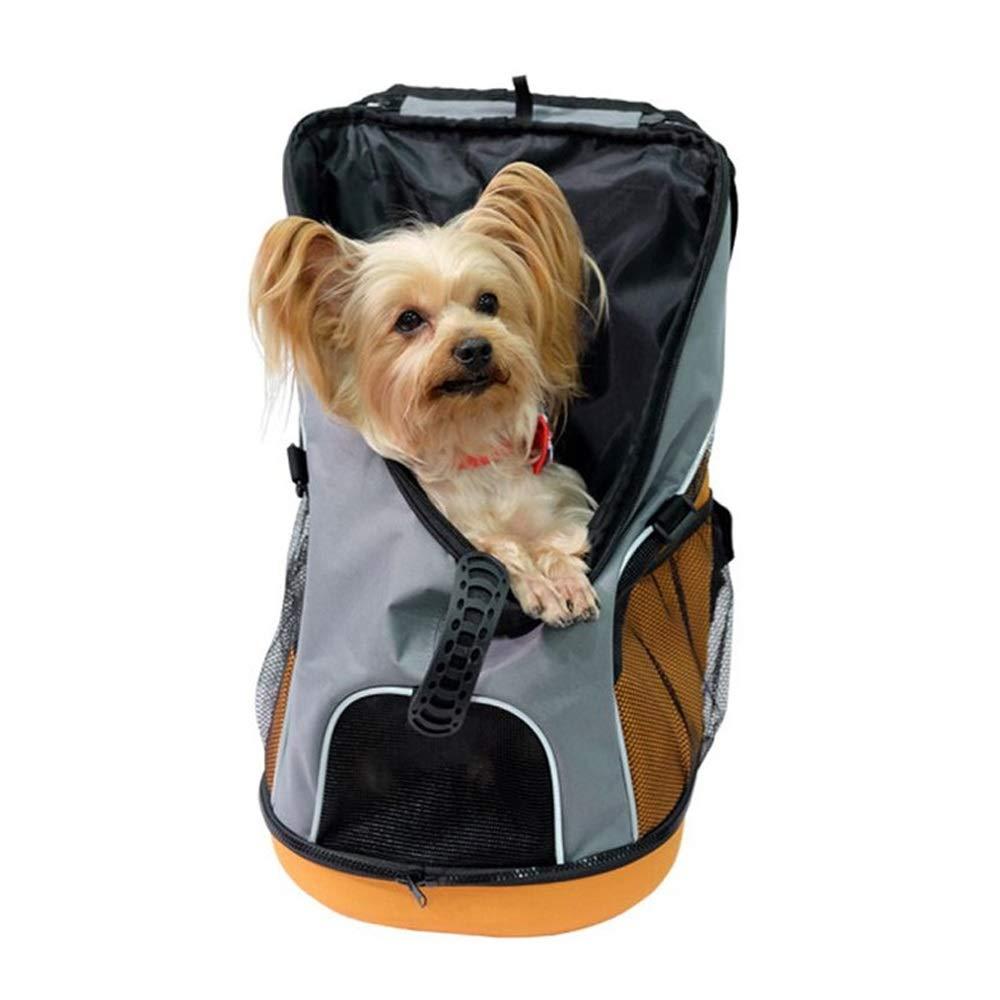 B CL Pet Bag Easy to Clean Portable Pet Backpack Two colors Optional 300X300X490mm Pet Bag (color   B)