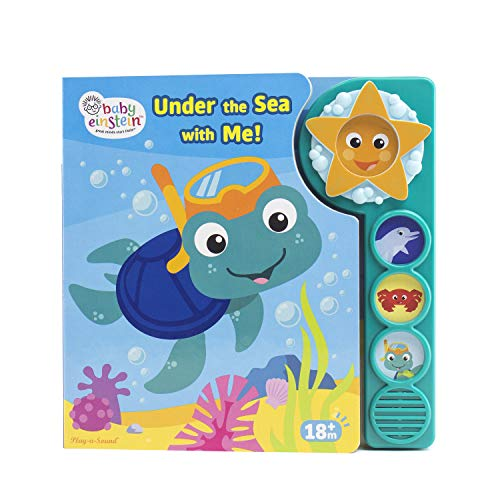 Baby Einstein - Under the Sea with Me! Sound Book - PI -