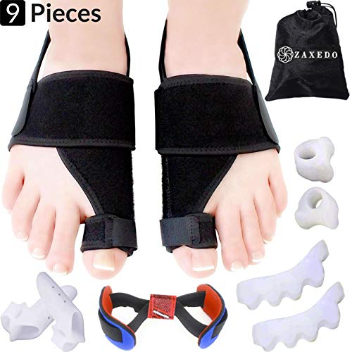 - Bunion Corrector & Bunion Relief Kit, Bunion Splint, Big Toe Corrector Straightener Brace, Toe Separators Spacers Straighteners, Hammer Toe, Hallux Valgus, Toe Joint Pain Relief Aid for Men & Women
