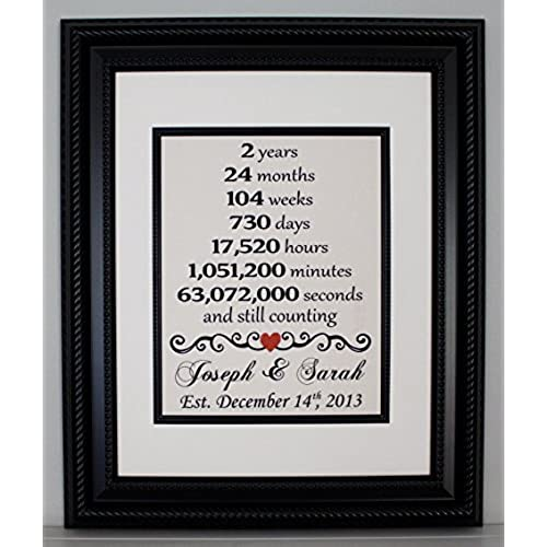 2nd wedding anniversary gifts amazon com
