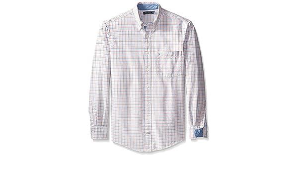 Nautica Camisa Oxford para Hombre Grande y Alta - Naranja - X ...