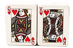 Poker Cards Salt and Pepper Shaker Set by Pacific Giftware