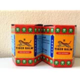 Tiger Balm Red Pain Relieving Rub Ointment Muscule Back Joint Neck Pain Relief 30 G (Pack of 2 Jars)
