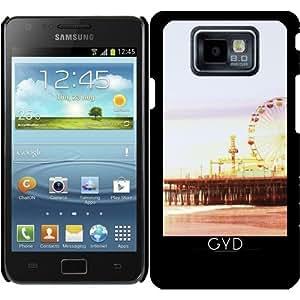 Funda para Samsung Galaxy S2 (GT-I9100) - Amanecer Muelle by Christine aka stine1