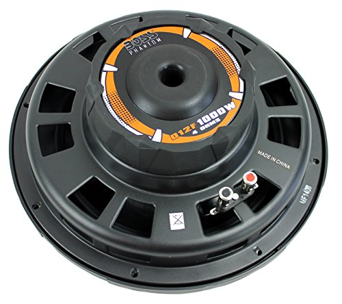 """2 New BOSS D12F 12"""" 2000W Car Audio Shallow Mount Subwoofers Power Subs Woofers"""
