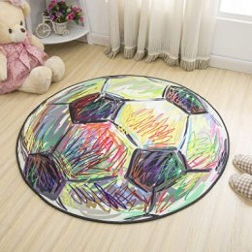 Rug Simple Style Nice Round Carpet Kids Room Bedroom Bedside Rug Tapeta Baby Crawling Mat Hallway Floor Mat