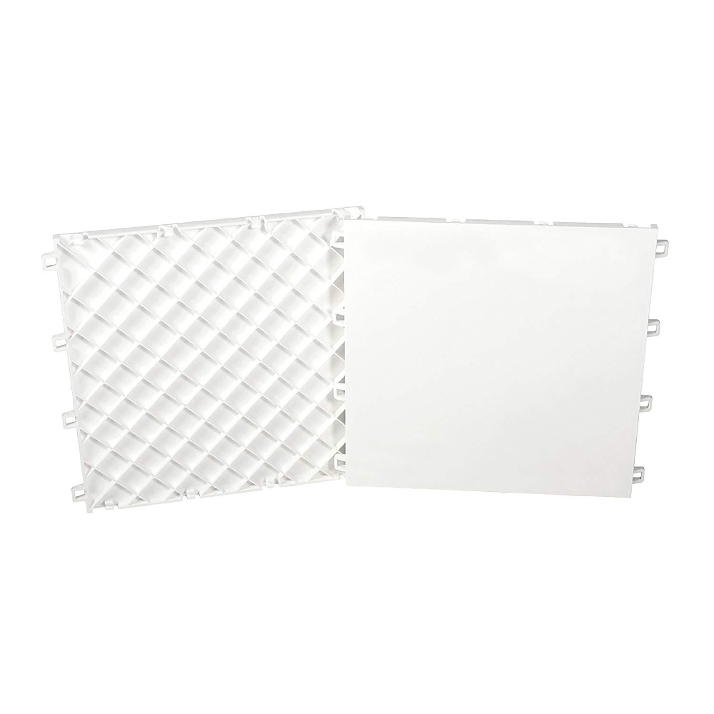Sweet Hockey Hockey Dryland Slick Tiles, White