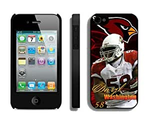 NFL Arizona Cardinals iPhone 4 4S Case 37 NFL iPhone 4 Case by kobestar