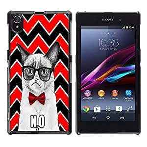 Dragon Case - FOR Sony Xperia Z1 L39 - You cannot appreciate happiness - Caja protectora de pl??stico duro de la cubierta Dise?¡Ào Slim Fit