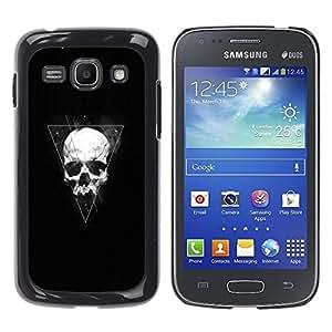 Stuss Case / Funda Carcasa protectora - Triángulo Geometría cráneo - Samsung Galaxy Ace 3