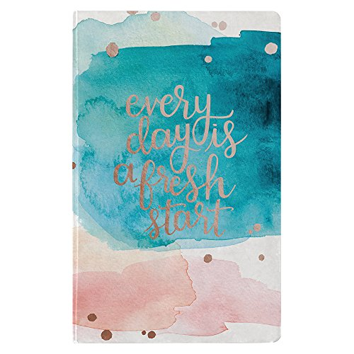 Hardbound Journal - Erin Condren Watercolor Splash 2018 Hardbound Notebook (dot grid)