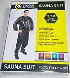 Fitness Sauna Suit 2-piece (Top & Bottom) XL/XXL (Fits 42