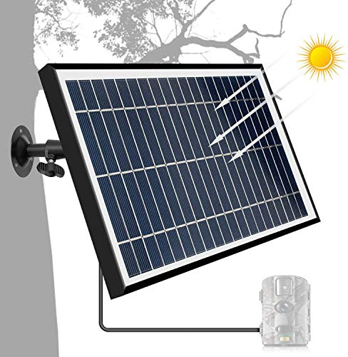 Solar Panel Wildlife Trail Camera 6V 5W Charger Aluminium Frame IP54 Waterproof
