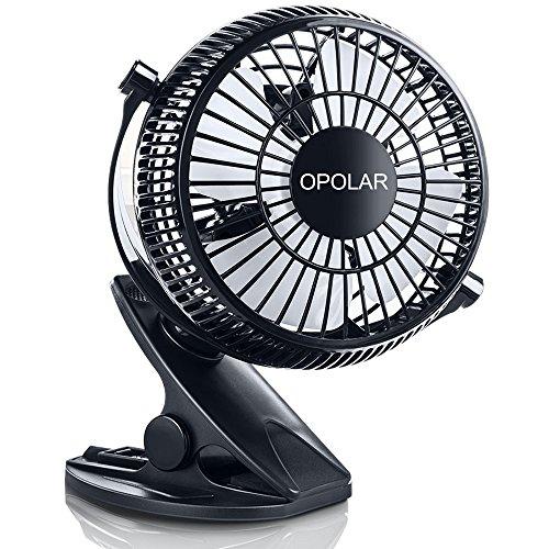 clip on ac fan black - 1