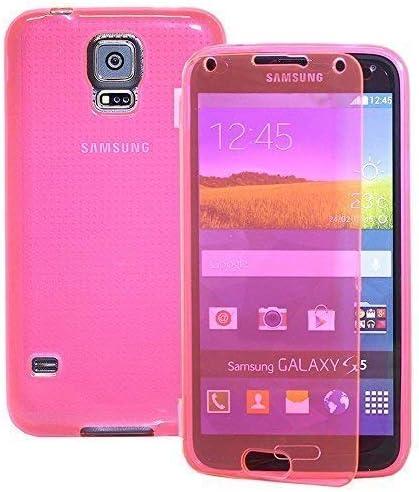 VCOMP® Housse Etui Coque Silicone Gel Portefeuille Livre Rabat pour Samsung Galaxy S5 V G900F SM-G903F G900IKSMATW LTE G901F/ Duos / S5 Plus/ S5 Neo ...