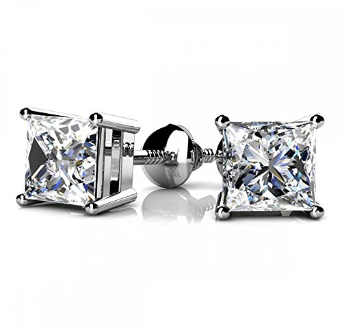 NYC Sterling Princess Zirconia Earring product image