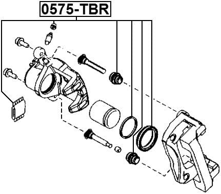 Geyc2646Za Cylinder Kit For Mazda Geyc-26-46Za Replacement Parts ...