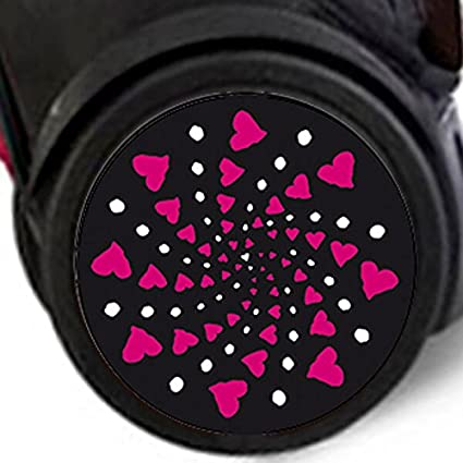 Adhesivos Nikidom Roller Wheel Sticker Cuore