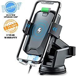 Wireless Car Charger, CHGeek 10W Qi Fast...