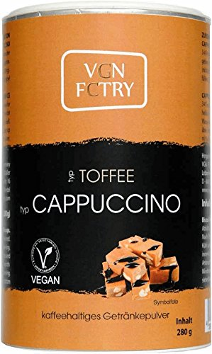 VGN FCTRY Instant Cappuccino Toffee 280g Vegan