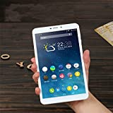 8 inch Tablet Octa Core IPS Bluetooth RAM 2GB ROM 16GB 5MP 3G MTK Dual sim card Phone Call Tablets PC Android 5.1 GPS electronic (Gold)
