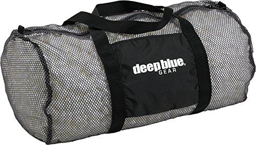 Deep Blue Gear Mesh Duffel Bag, Large, Graphite