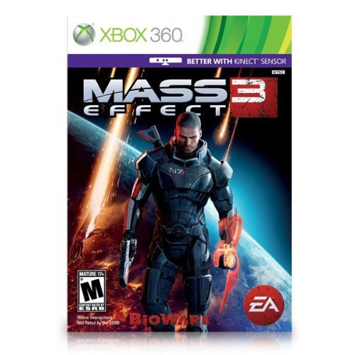 Electronic Arts Mass Effect 3 (Xbox 360) for Xbox 360 for Video Games (Catalog Category: Xbox 360 / Fighting & War )