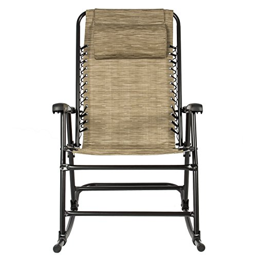 Best choice products folding rocking chair foldable rocker for Best folding chairs outdoor