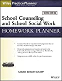 img - for School Counseling and Social Work Homework Planner (W/ Download) book / textbook / text book