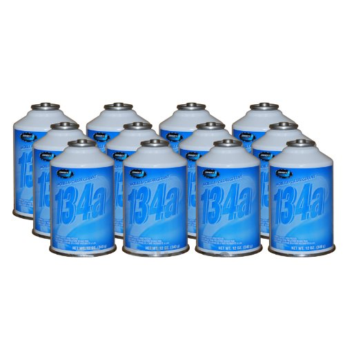 Johnsen's R-134a HFC 134A Automotive A/C Refrigerant 2 Cases 12x2 cans 24 - 12oz cans MADE IN USA