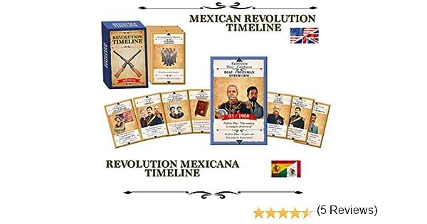Malinche Games Mexican Revolution Timeline: Amazon.es: Juguetes y juegos