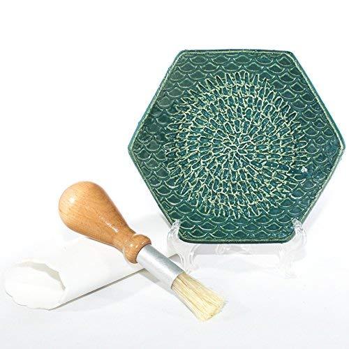 Plate Grating (Garlic Grater- The Grate Plate Handmade Ceramic Graters)