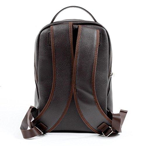 V 1969 Italia Mens Backpack Brown DUBAI