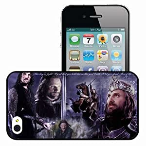 Personalized iPhone 5c Cell phone Case/Cover Skin Aragorn movies Black