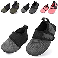 Deals on L-RUN Baby Barefoot Skin Aqua Sock Swim Shoes
