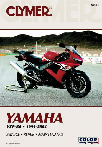 Yamaha YZF-R6 1999-2004 (CLYMER MOTORCYCLE REPAIR)