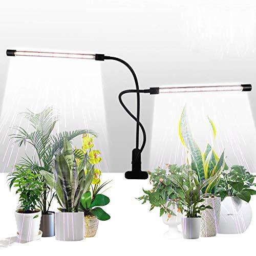 Luces para plantas de interior 50W 84 LED temporizador timer