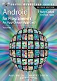 Android for Programmers: An App-Driven Approach (2nd Edition) (Deitel Developer Series)