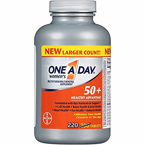 (One A Day Women's 50+ Healthy Advantage Multivitamin Tablets, 220 ct. (pack of 2))