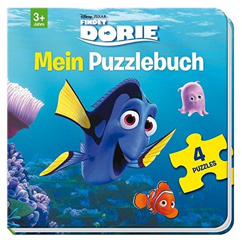 Disney Pixar Findet Dorie: Mein Puzzlebuch: Mit 4 Puzzles zu je 12 Teilen