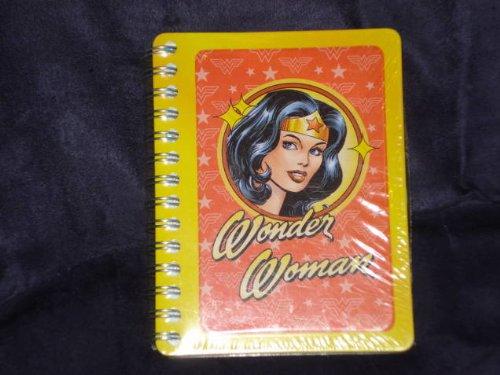 Wonder Woman Tin Address Book