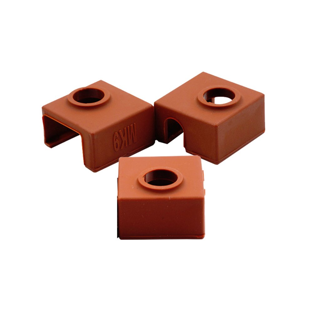 CCTREE 3D Printer Heater Block Silicone Cover MK7/MK8/MK9 Hotend For Creality CR-10, 10S, S4, S5 Anet A8 Ender 3 CC-MK9-Cover