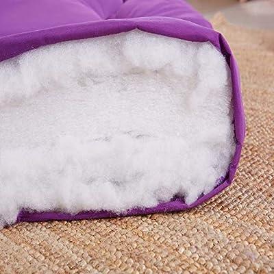 Espesar Dormir Suelo Colchones de futon, Plegable Tamaño completo Japonés Primeros del colchón Cubierta Almohadilla Ventana de bahía amortiguador Por ...