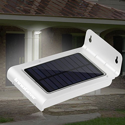 Gracetop 24 led waterproof solar powered fence post light motion gracetop 24 led waterproof solar powered fence post light motion sensor outdoor garden patio path wall aloadofball Image collections