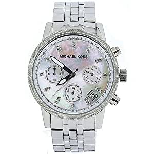 amazoncom michael kors ladies chronograph mother of
