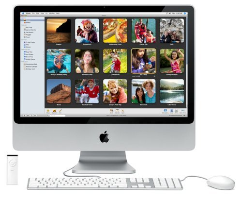 Imac Core 2 Duo 2.0 Ghz - Aluminum. 2gb Ram/ 160gb Hard Drive/ Superdrive/ Airport 20inch LCD Part # Mc015ll/a (Renewed)