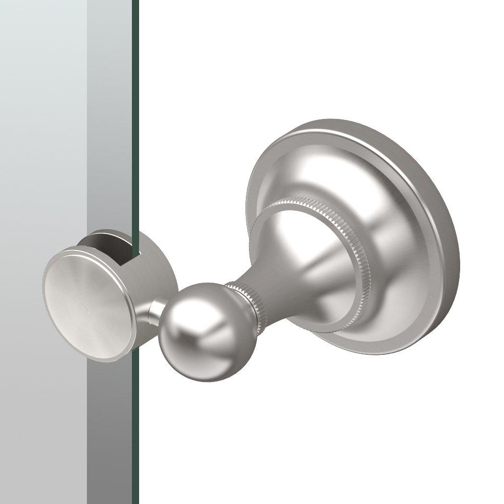 Satin Nickel P Gatco 4339SM Tiara Small Rectangle Mirror